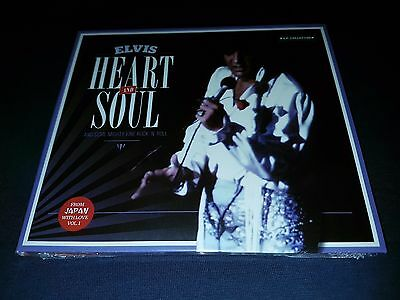 Elvis Presley - heart and soul - very rare mint new cd