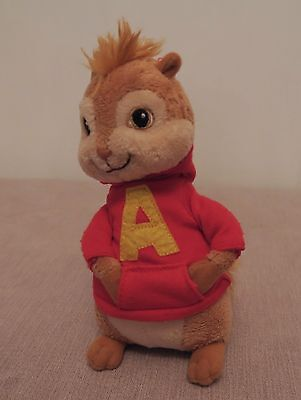 "Ty - Alvin and The Chipmunks - Alvin 6"" Beanie Plush Toy"