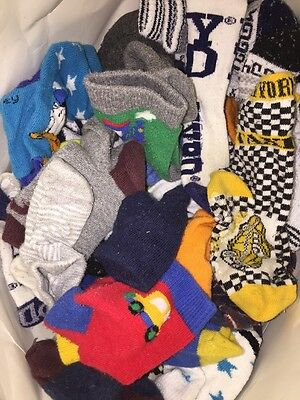 Around 30 Pairs Of Boys Socks Age 3-5.5