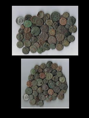 Lot Of 10 Assorted  Roman Imperial Coins - Many Over 2500 Years Old