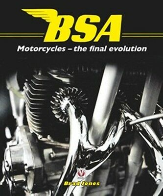 BSA Motorcycles the final evolution book paper