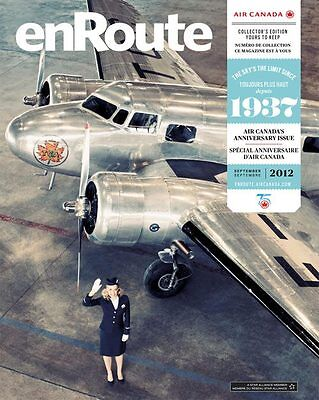Air Canada September 2012 ENROUTE Magazine Anniversary Collector's Edition NEW