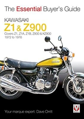 Kawasaki Z1 & Z900 1972 to 1976  Essential Buyers Guide book paper