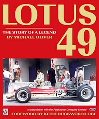 Lotus 49 The Story of a Legend gold leaf edition