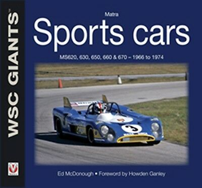 Matra Sports Cars MS620 630 650 660 & 670 1966 to 1974 book paper