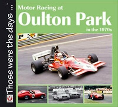 Motor Racing at Oulton Park in the 1970s book paper