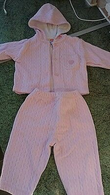 Girls cardigan and trousers set age 3-6mths
