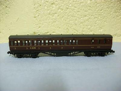 57ft Brake End Coach 'LMS' By Graham Farish Earlier Version Of No 0616 'N' Gauge