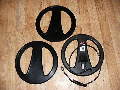 """Minelab Explorer / E-trac / 10.5"""" inch Metal Detector Coil With 2 Coil Covers"""