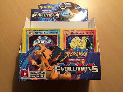 Pokemon Cards - XY Evolutions Huge Booster Box Full of Cards inc Holo,Rares 380+