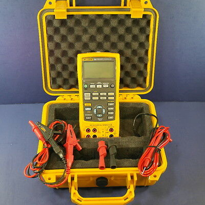 New Fluke 726 Precision Multifunction Process Calibrator! Hard Case, Accessories