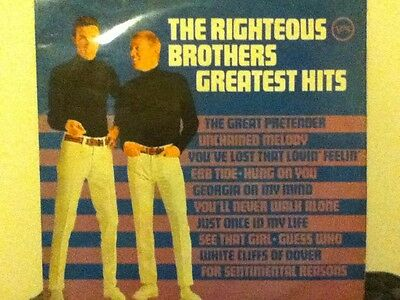 The    Righteous    Brothers       Lp    Greatest     Hits