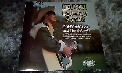 "Irish Country Music - Tony Walsh and The Detroits 12"" vinyl LP"