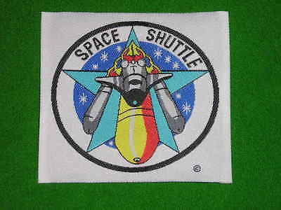 Space Shuttle Launch Patch x 4