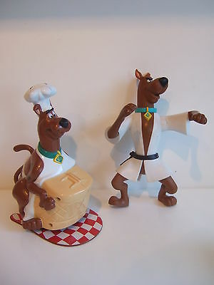 2 x Scooby Doo Toys - 1 x In Karate Dress  1 x Battery Operated Cook - Vibrates