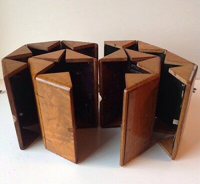 Puzzle Box For Singer Sewing Machine 1889 Lot Of 4