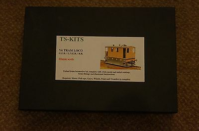 Gauge1 TS Etched brass kit for a GER/LNER/BR Y6 (Toby) Tram Loco
