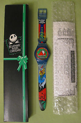 Vintage Halloween Themed Nightmare Before Christmas Watch New in Box