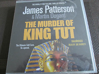 JAMES PATTERSON, Martin Dugard - the murder of King Tut - 5 CD audio book