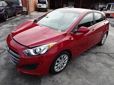 2016 Hyundai Elantra GT 2016 Hyundai Elantra GT Salvage Wrecked Repairable! Priced To Sell! Wont Last!