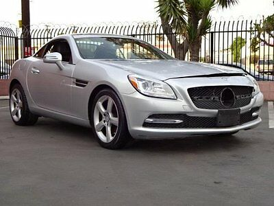 2015 Mercedes-Benz SLK-Class SLK250 Convertible 2015 Mercedes-Benz SLK250 Damaged Clean Title Super Low Miles Luxurious Must See