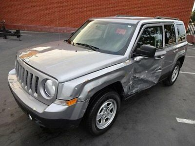 2016 Jeep Patriot Sport 2016 Jeep Patriot Sport Salvage Wrecked Repairable! Priced T