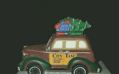 Department 56 City Taxi with Original Box