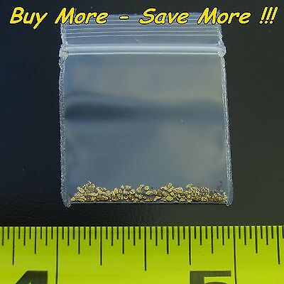 .165 Gram Natural Raw Alaskan Placer Gold Dust Fines Nugget Flake Paydirt 18k AU