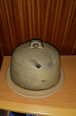 Tremar Pottery Cheese Dome & Underplate.