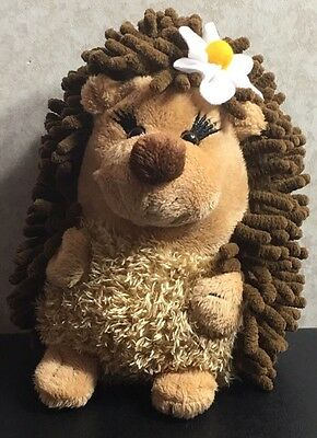 Hedgehog ABC Bakers GIRL SCOUT Cookies Promo Plush Stuffed Animal DAISY