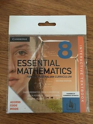 New Cambridge Year 8 Essential Mathematics For The Aust Curr Interactive Textboo