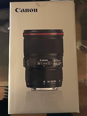 Canon 16-35mm f/4 L IS EF USM Lens - 3 Months Old. Mint Condition