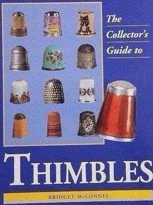 Vintage Thimble Value Guide Collector's Reference Book Color Photos Hardback