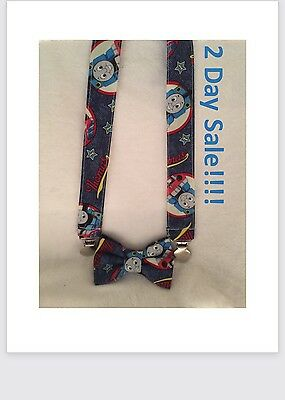 Thomas The Train Bow Tie and Suspender