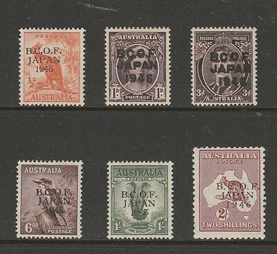 """1946 B.c.o.f. Set Of """"6"""" """"mint"""" Rare Only 32000 Sets Issued"""