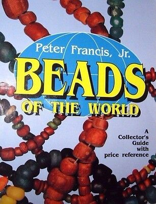 JEWELRY VINTAGE BEADS PRICE GUIDE COLLECTOR BOOK Wood Stone Plastic ++