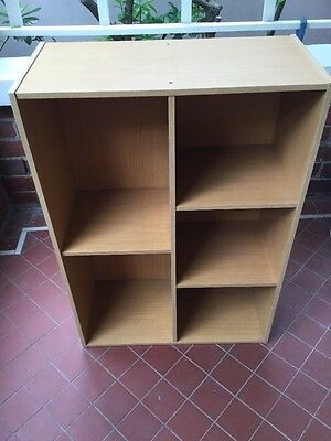 Two Small Shelving Units