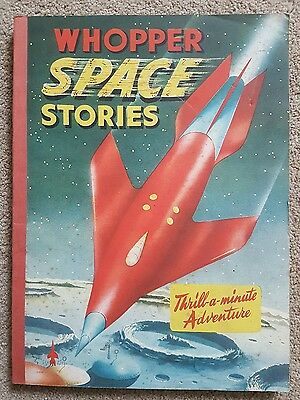 Whopper Space Stories Paperback Book