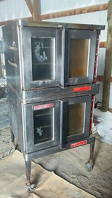 Blogdett Electric Double Stack Full Size Convection Oven Mark V