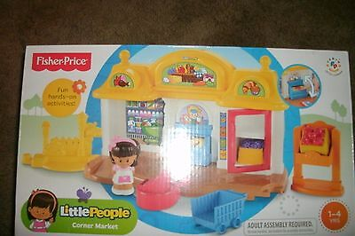 Fisher Price Little People Corner  Market  New In Box