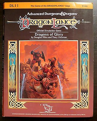 Dragonlance DL11 DRAGONS OF GLORY Near Mint Complete + Dragon Mag with Adv Rules
