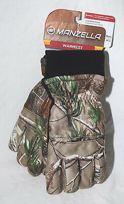 Manzella Trico Realtree AP Camo Insulated Hunting Gloves 200 gram M/L or L/XL