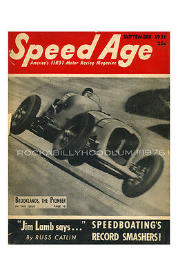 new hot rod Poster 11x17 Speed Age Magazine Cover Art Race Racing