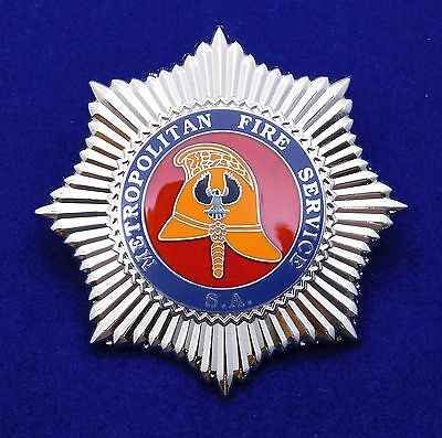 Metropolitan Fire Service South Australia obsolete replica badge Not Police