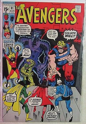 Marvel Comics - Avengers #91 - 1960s Silver Age Comic - High Grade - Under Guide