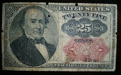 Fractional Currency Civil War