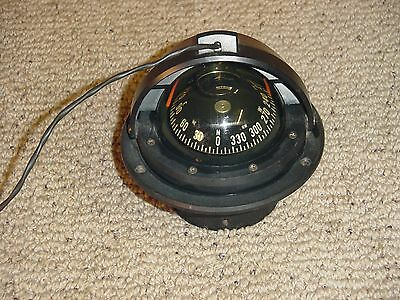Ritchie F-83 Voyager Marine Compass  Serial # A84 Black Flush Mount