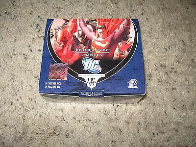 VS System JUSTICE LEAGUE Booster Box DC COMICS Upper Deck 24 packs + 6 extra pac