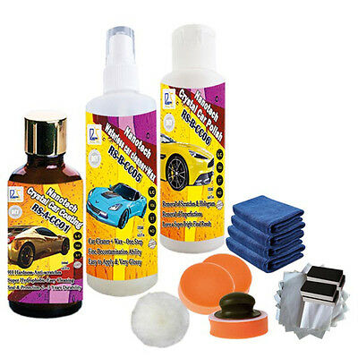 Paint coat car-covers glass coating ceramic pro car wax 3 sets in one parcel