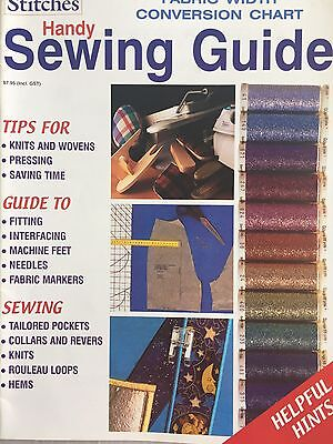 Stitches Handy Sewing Guide